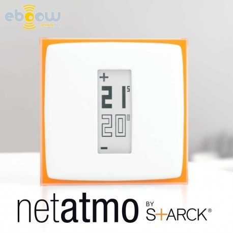 netatmo thermostat le thermostat connect by starck. Black Bedroom Furniture Sets. Home Design Ideas