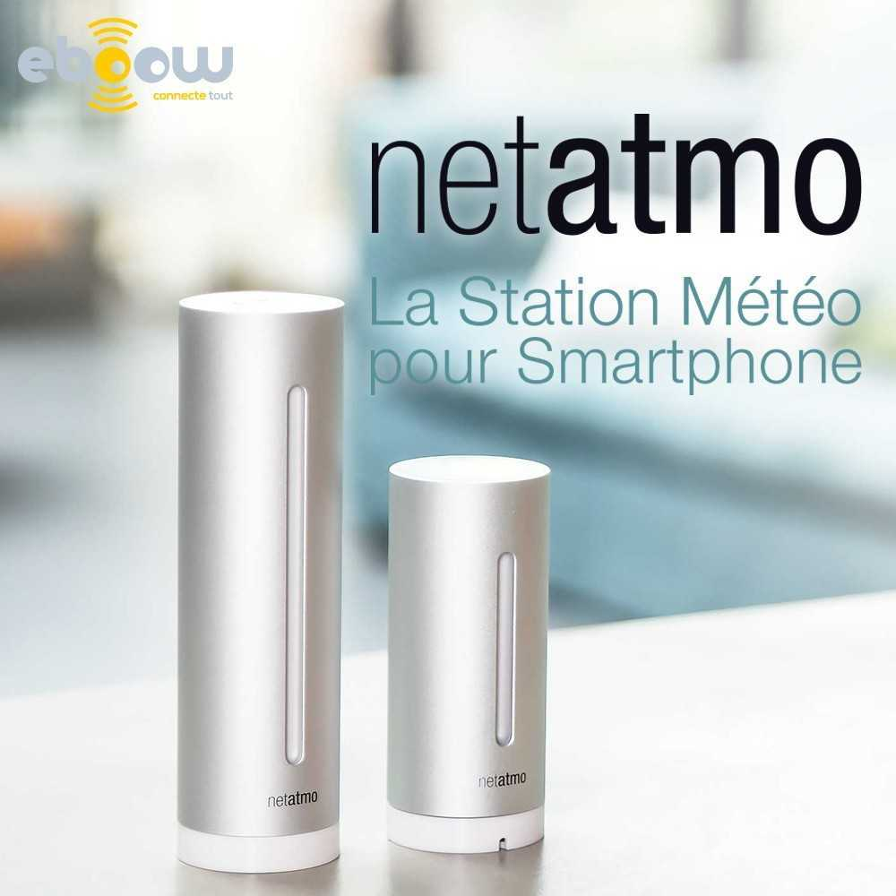 netatmo station m t o analyse de votre environnement. Black Bedroom Furniture Sets. Home Design Ideas