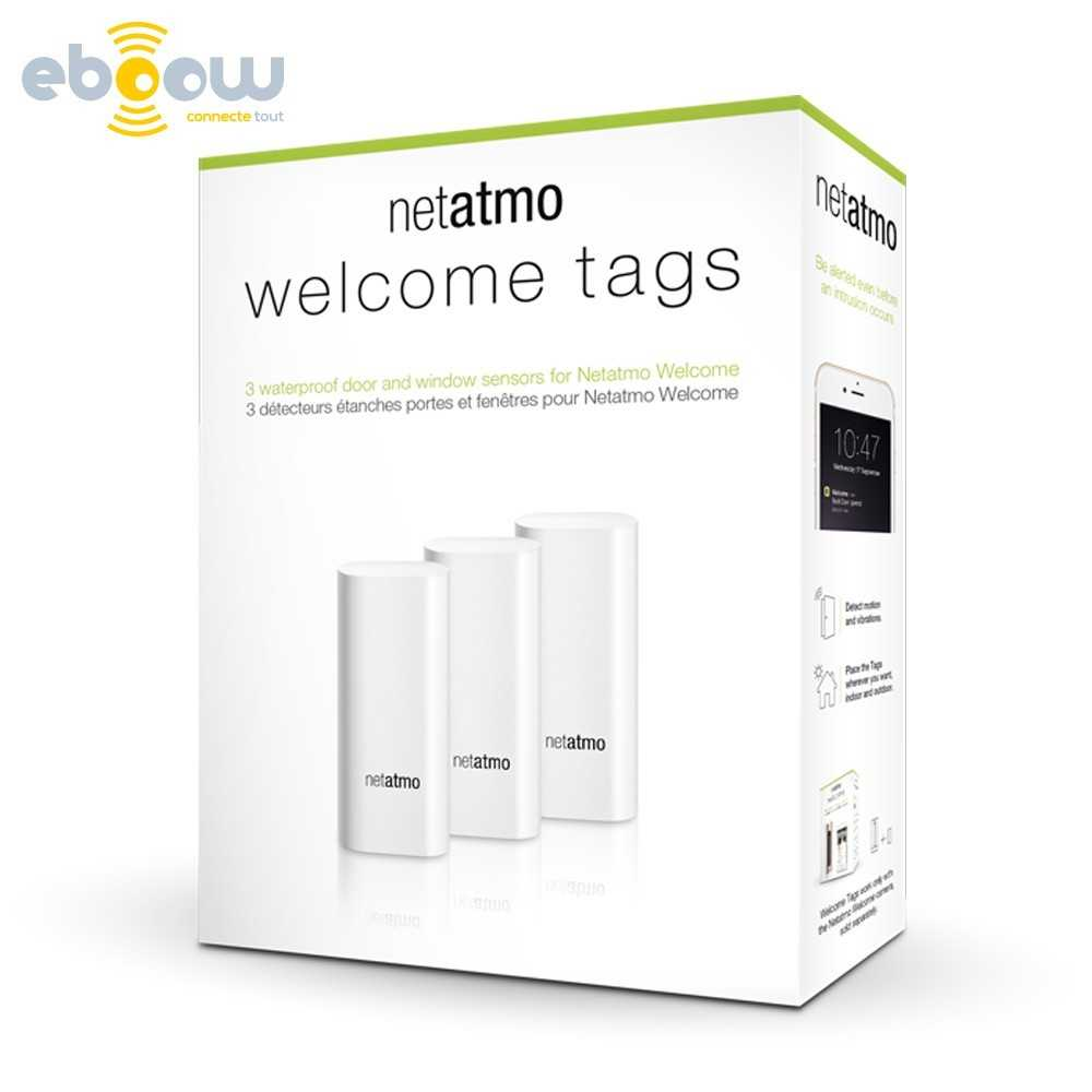 netatmo tags de s cutit welcome. Black Bedroom Furniture Sets. Home Design Ideas