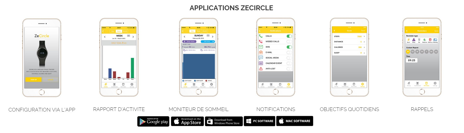 Mykronoz Zecircle application