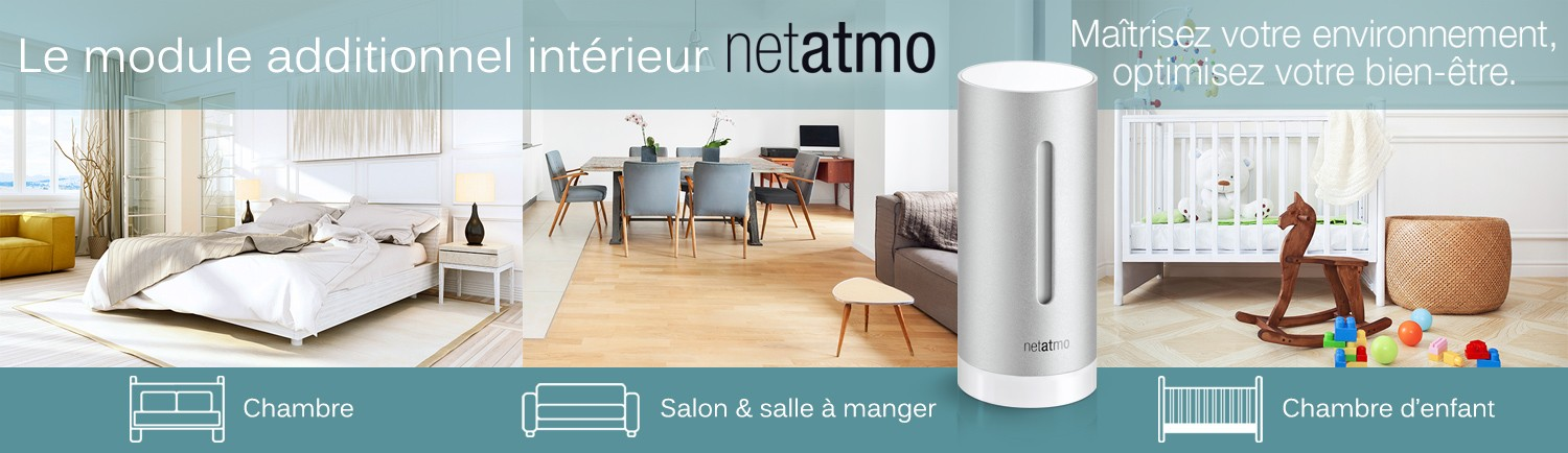 netatmo module additionnel. Black Bedroom Furniture Sets. Home Design Ideas