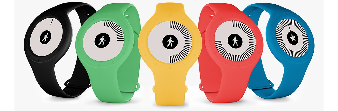 Tracker d'activité Withings Go couleurs