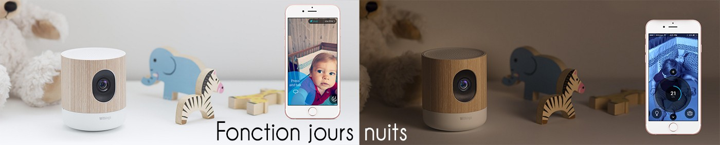 Withings Home mode jours nuits