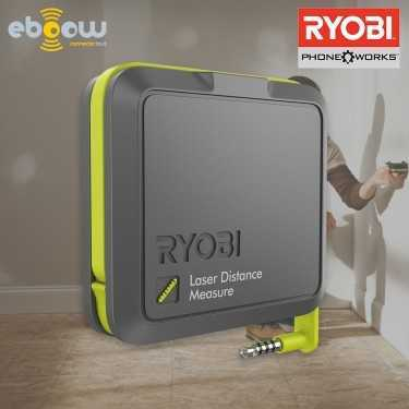 Ryobi Télèmètre laser connecté Phone Works
