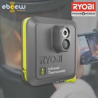 Ryobi Thermomètre infrarouge connecté Phone Works