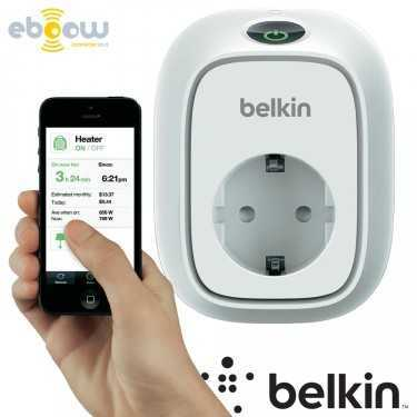Interrupteur connecté WeMo® Insight de Belkin