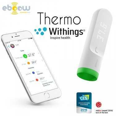 Thermo de Withings thermometre connectée