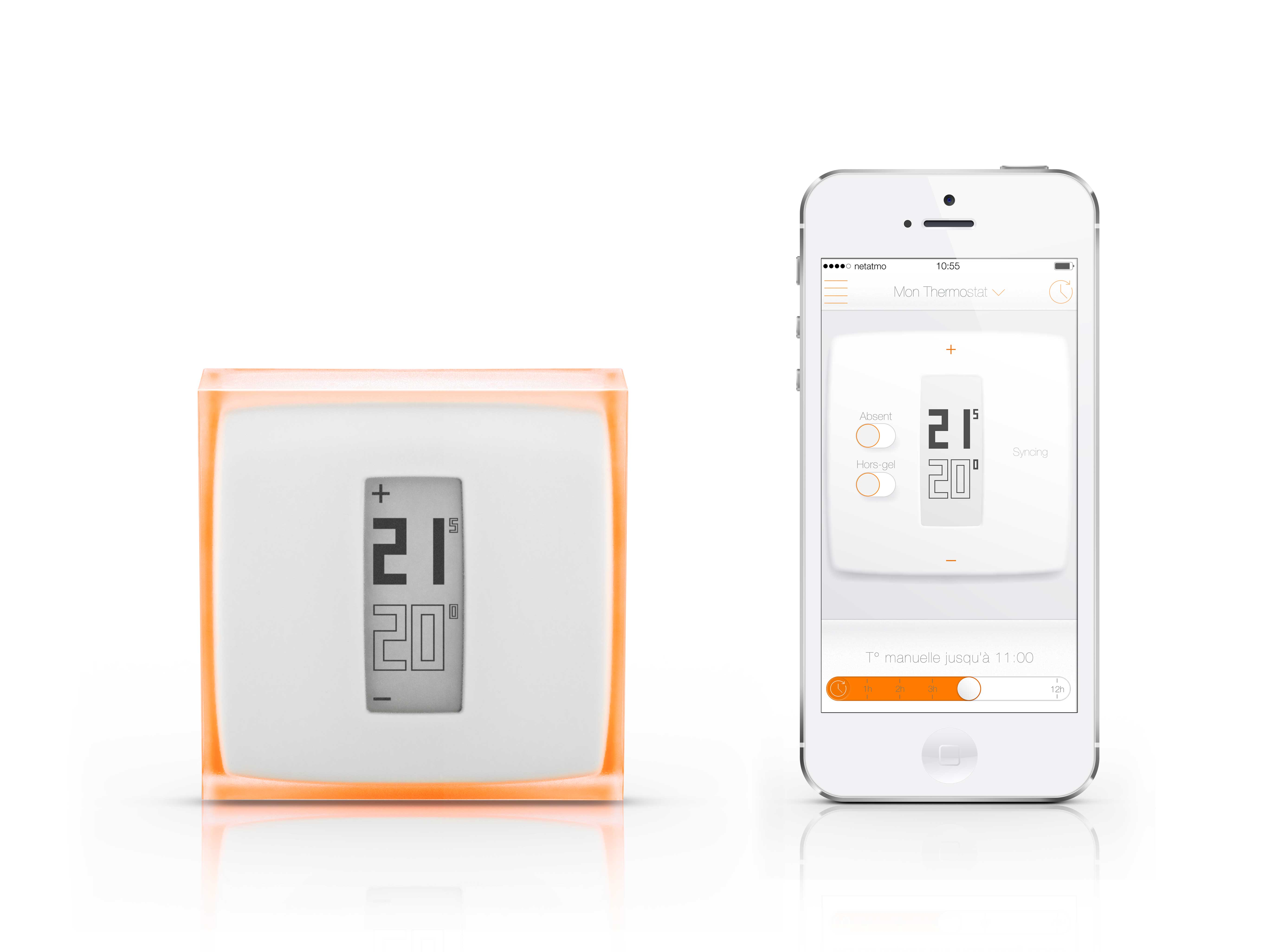thermostat connect netatmo eboow. Black Bedroom Furniture Sets. Home Design Ideas